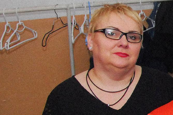 Артистка украинского юмористического телешоу Марина Поплавская