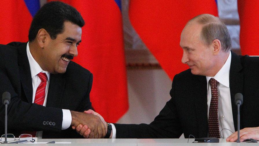 Путин пожелал Мадуро «доброго здравия»