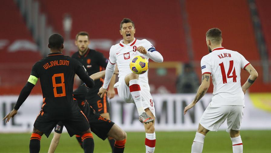 эпизод матча Польша- Нидерланды