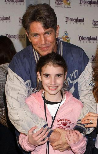 Эрик Робертс с дочкой Эммой