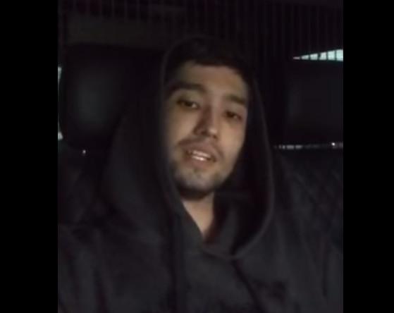 Кадр из видео, которое сняли участники погони