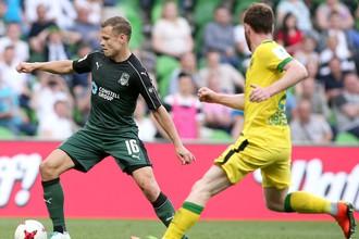 «Краснодар» разгромил «Анжи» в матче РФПЛ