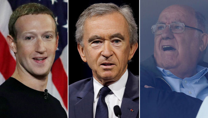 $110 млн в день: названы самые успешные бизнесмены