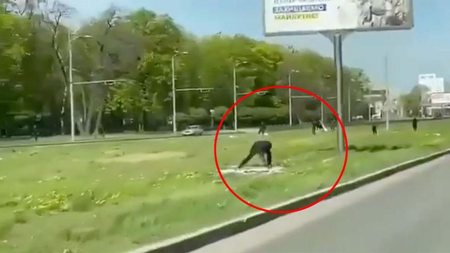 В Харькове неизвестные уничтожили плакаты с поздравлениями к 9 мая