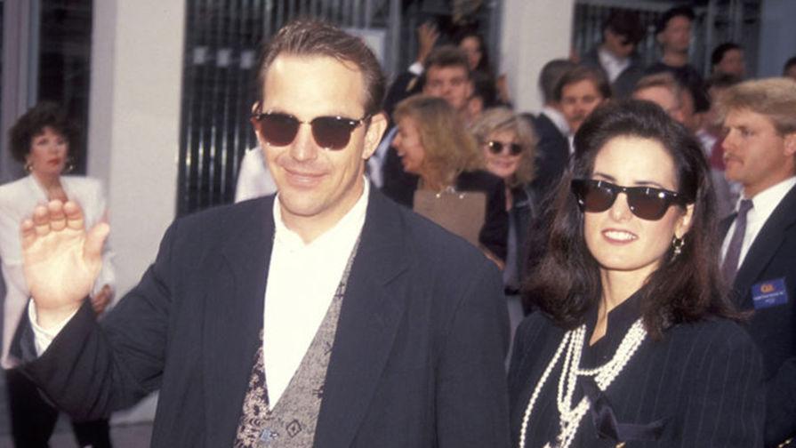 Кевин Костнер и Синди Силва. У бывших супругов трое детей