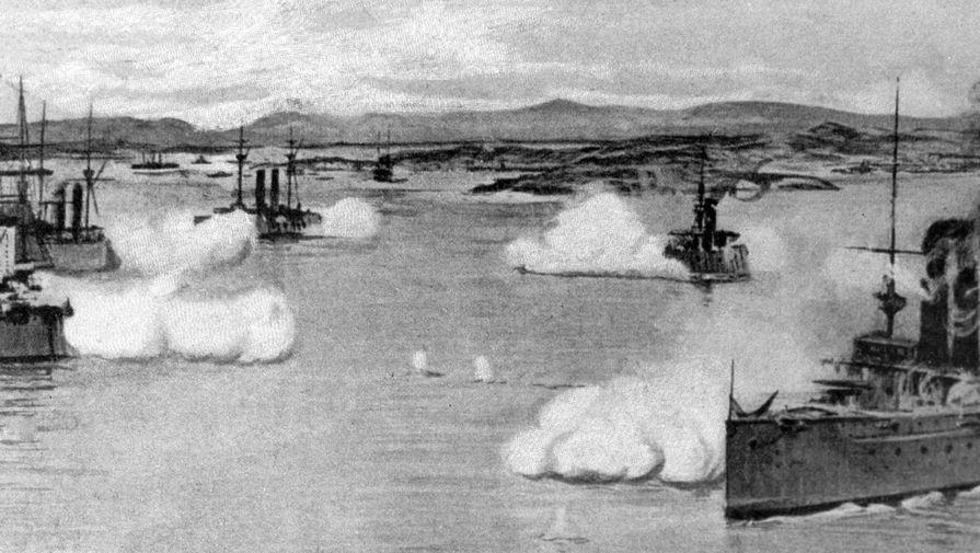 """115 лет назад состоялся бой крейсера """"Варяг"""" с японской эскадрой"""