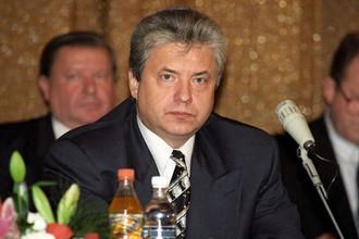 Директор Федеральной службы безопасности России Николай Ковалев на заседании коллегии ФСБ, 1996 год