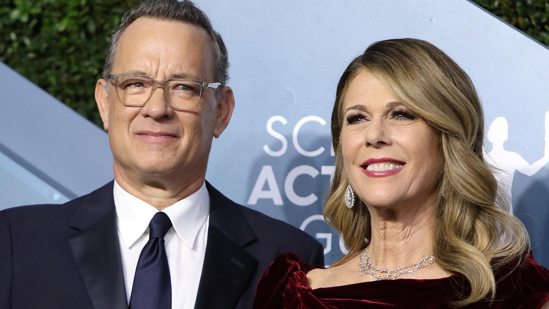 Актер Том Хэнкс и его жена вернулись в США после карантина в Австралии