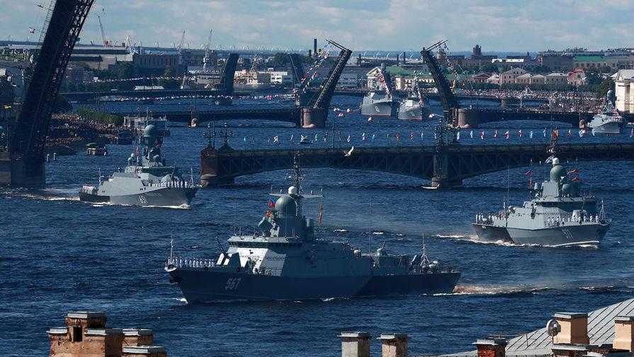 «Да здравствует ВМФ»: Путин пообещал морякам гиперзвуковое оружие