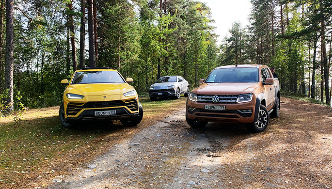 VW Amarok: пикап против суперкара
