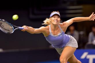 Мария Шарапова с большим трудом вышла в третий круг турнира в Токио