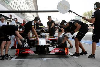 Механики HRT провели переговоры с руководством команды «под градусом»