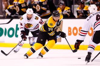 Дубль Патриса Бержерона гарантировал «Бостону» сухую победу над «Чикаго»