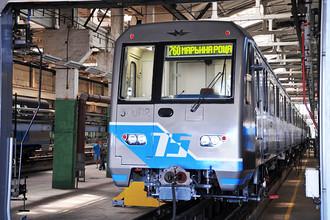 Вагон метро серии 81-760/761 «Ока»