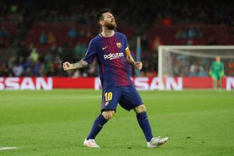 Игрок «Барселоны» Лионель Месси