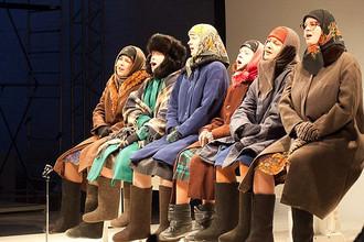 Московский театр «Практика» привез на «Текстуру-Олимп» спектакль «Бабушки»