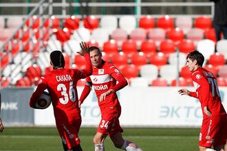 Вторые команды «Зенита» и «Спартака» сошлись в матче 29-го тура ФНЛ