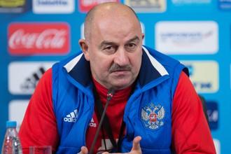 Станислав Черчесов дал пресс-конференцию перед матчем Россия — Чили