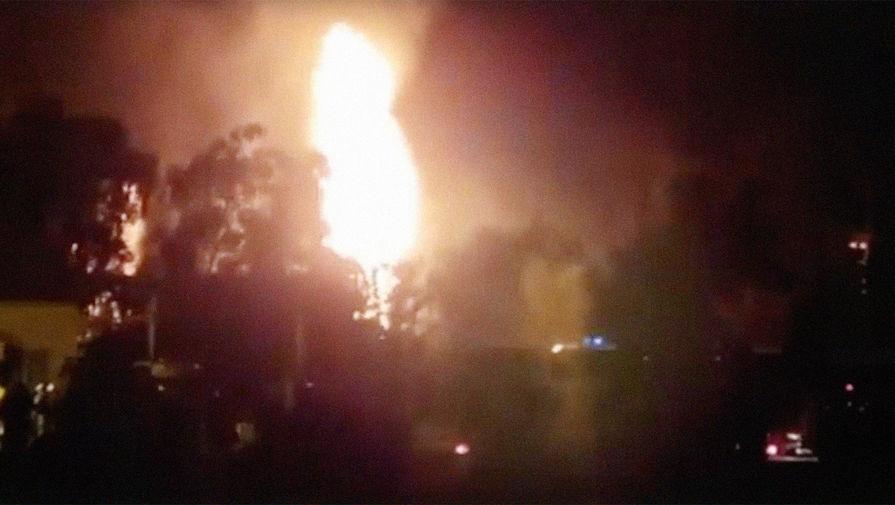 На месте взрыва и пожара на газораспределительной станции в Казани, 13 июня 2020 года