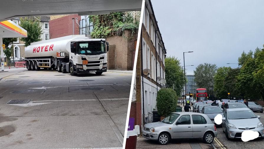 В Британии на фоне дефицита топлива водители стали преследовать бензовозы
