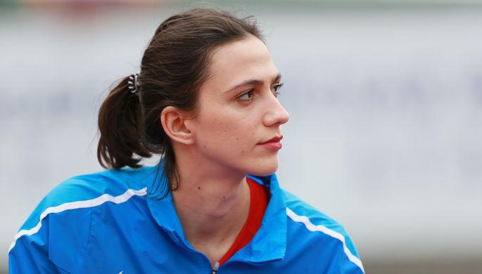 Мария Ласицкене на чемпионате России по легкой атлетике