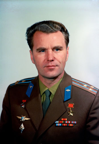 Владимир Шаталов- летчик-космонавт СССР, 1969 год