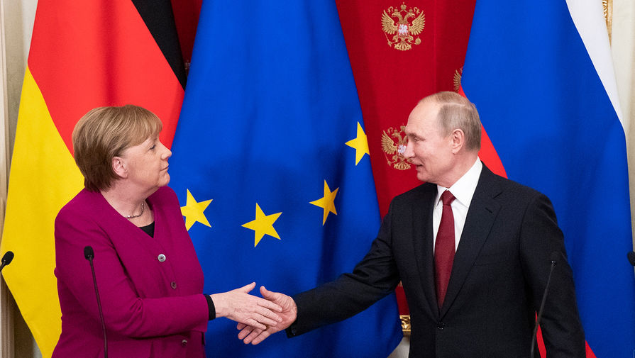 Меркель может обсудить Афганистан на предстоящей встрече с Путиным