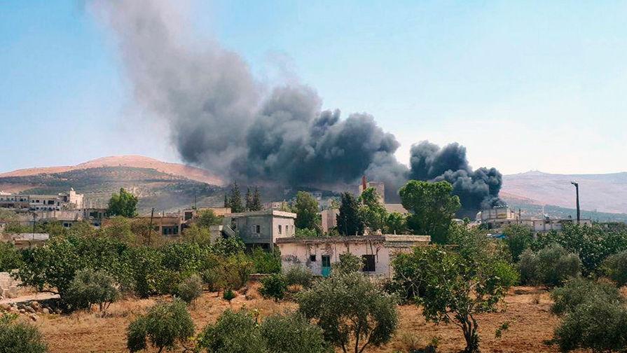 Источник: коалиция США нанесла авиаудар по Сирии
