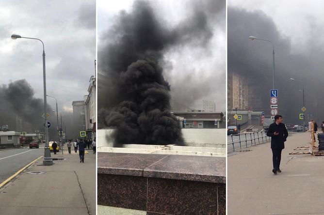Пожар в Балтийском туннеле в Москве, 7 октября 2019 года