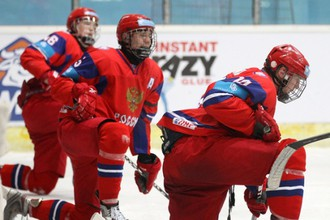 Игроки российской команды после поражения от канадцев
