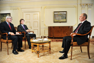 Накануне саммита G20 Владимир Путин дал интервью AP и Первому каналу