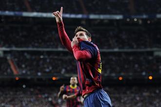 Хет-трик Месси принес «Барселоне» победу над «Реалом»