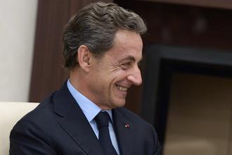 Экс-президент Франции, лидер французской оппозиционной партии «Республиканцы» Николя Саркози