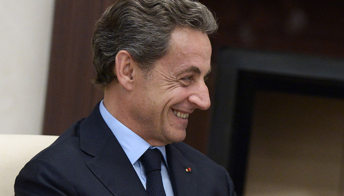 Экс-президент Франции, лидер французской оппозиционной партии «Республиканцы» Николя...