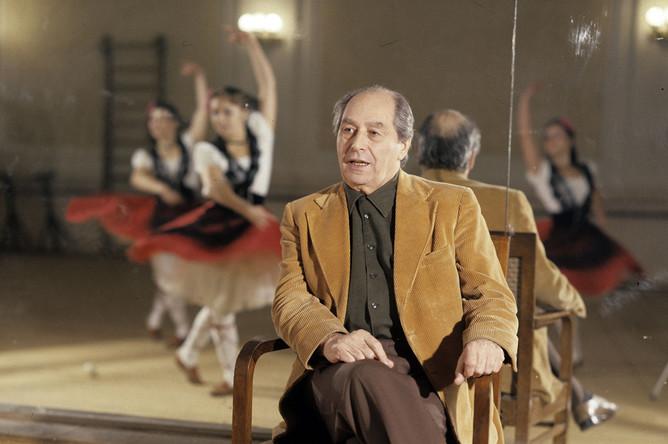 Игорь Моисеев на репетиции, 1987 год