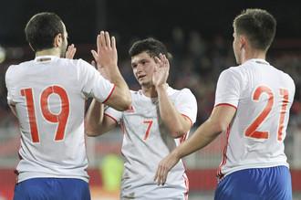 Сборная России U19 встречается с Гибралтаром