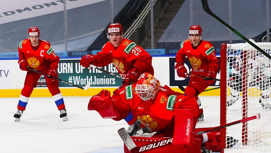 Сборная России U20 на молодежном чемпионате мира по хоккею — 2021