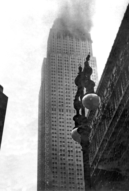 Пожар в здании Эмпайр-стейт-билдинг, 28 июля 1945 года