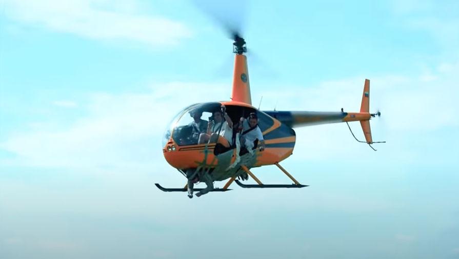 СК завел дело после видео с примотанным к вертолету мужчиной