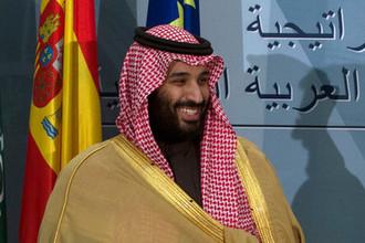 наследный принц Саудовской Аравии Мухаммед Аль Сауд