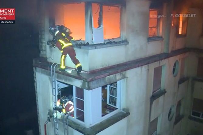 Пожар в Париже, 5 февраля 2019 года