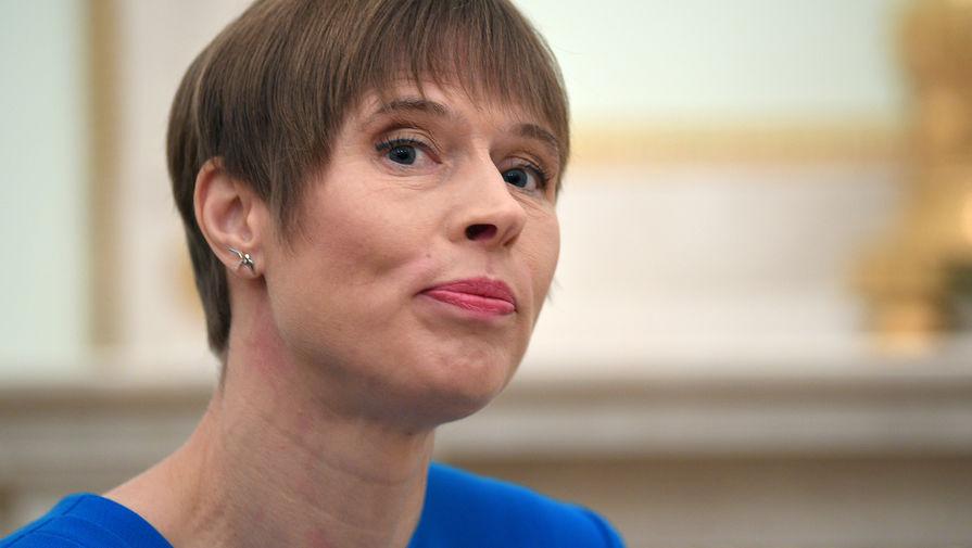 Президент Эстонии назвала ошибкой отказ от переговоров с РФ