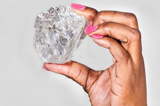 Размеры алмаза составляют 65 мм на 56 мм и 45 мм. За всю историю ранее был найден лишь один алмаз больших размеров