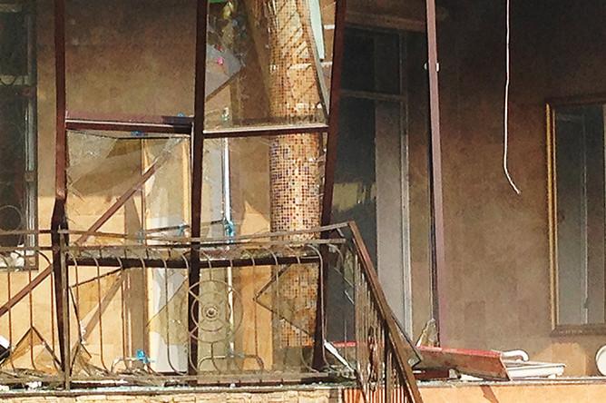 Банкетный зал «Лайли», где произошел взрыв газового баллона