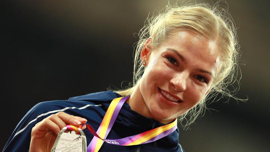 Россиянка Дарья Клишина завоевала серебро на чемпионате мира по легкой атлетике в Лондоне