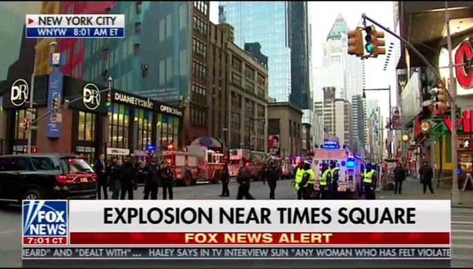 Трампу доложили о взрыве в Нью-Йорке