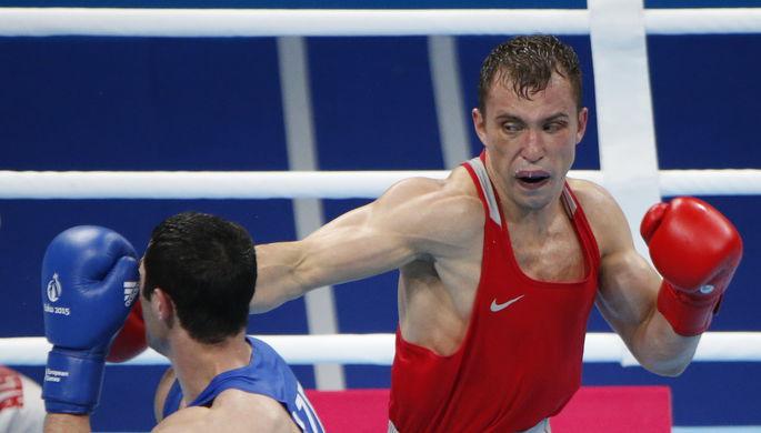 Российский боксер Александр Беспутин