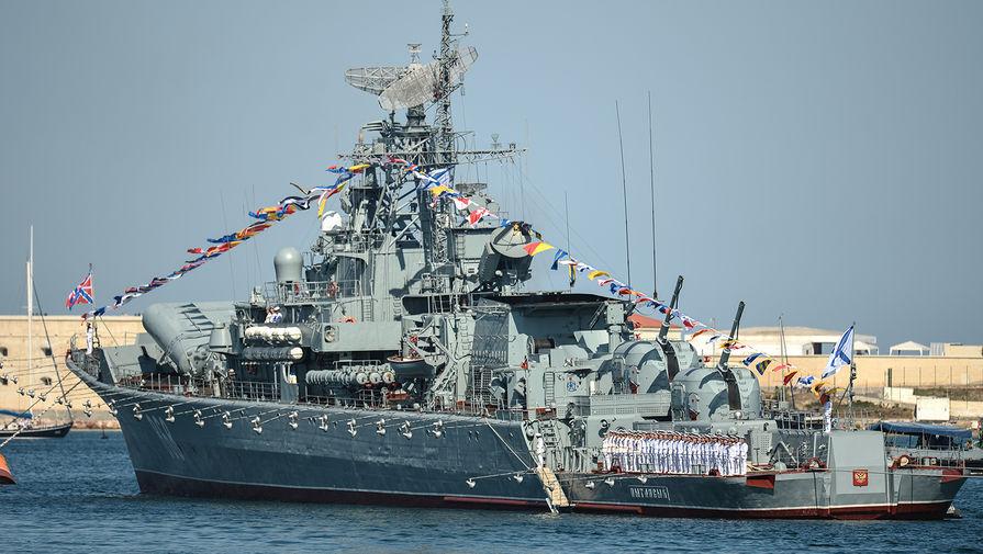 Сторожевой корабль Черноморского флота «Пытливый»