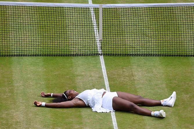 Серена Уильямс на Уимблдонском турнире, 2016 год
