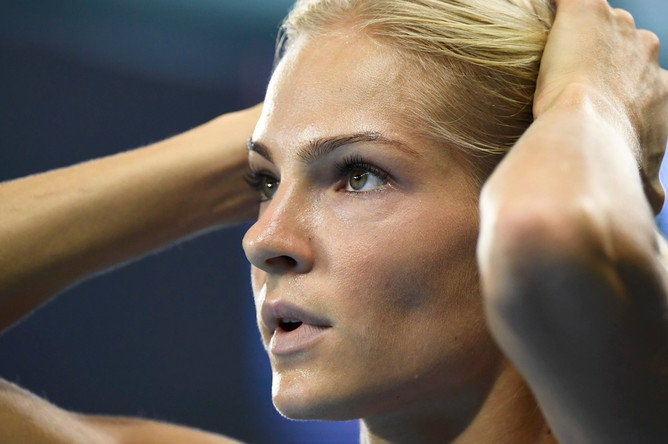 Российская легкоатлетка Дарья Клишина